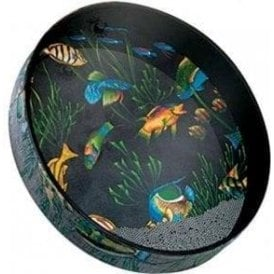 "Remo ET021210 12"" Ocean Drum - Graphic Design Finish"