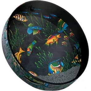 "Remo ET021610 16"" Ocean Drum - Graphic Design Finish"