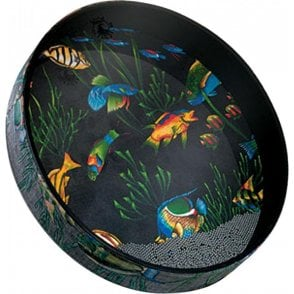 "Remo ET022210 22"" Ocean Drum - Graphic Design Finish"