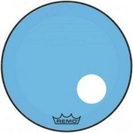 Remo Powerstroke 3 Blue Colortone Display Bass Drum Heads