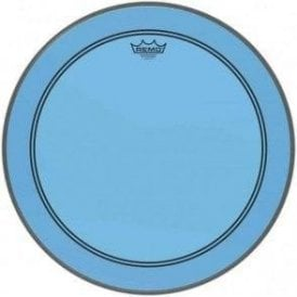 Remo Powerstroke 3 Colortone Blue Bass Drum Heads