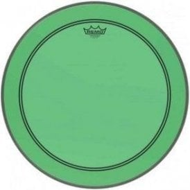 Remo Powerstroke 3 Colortone Green Bass Drum Heads