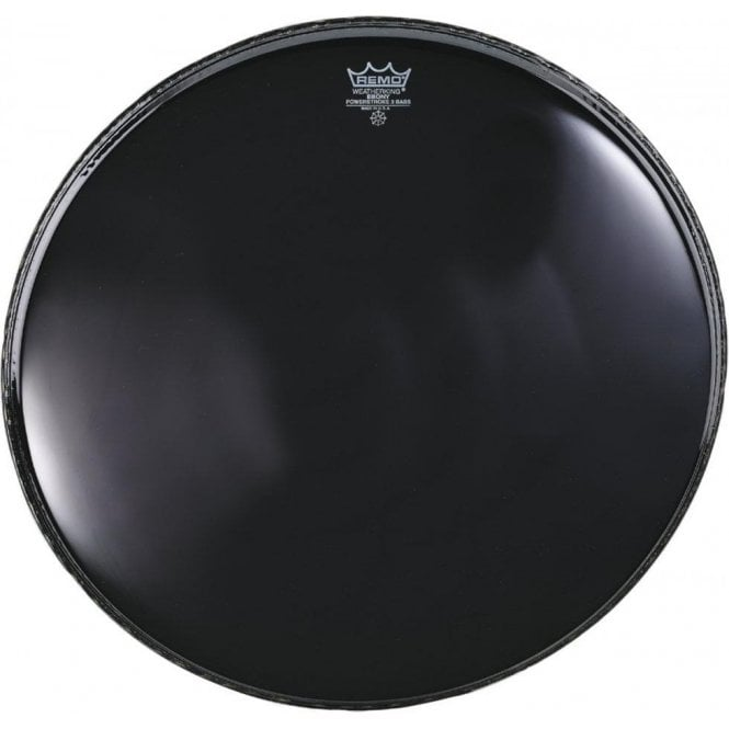 Remo Powerstroke 3 Ebony Bass Drum Heads