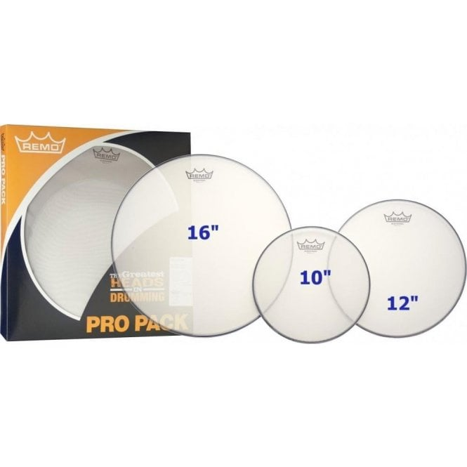"Remo ProPack 10"", 12"", 16"" Silentstroke"