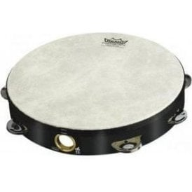 "Remo TA510870 Tambourine 8"" Single Row Black Finish"