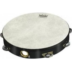 "Remo TA511070 Tambourine 10"" Single Row Black Finish"