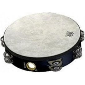 "Remo TA520870 Tambourine 8"" Doube Row Black Finish"
