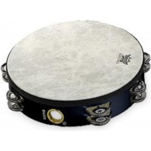 "Remo TA521070 Tambourine 10"" Doube Row Black Finish"