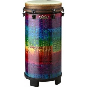 "Remo Tubano 12"" Key Tuned Rainbow Finish"