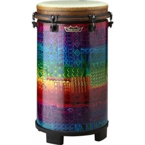 "Remo Tubano 14"" Key Tuned Rainbow Finish"