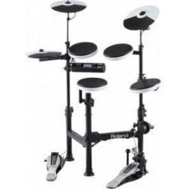 Roland TD4KP Portable Electronic Drum Kit & Carry Bag & Extras Bundle