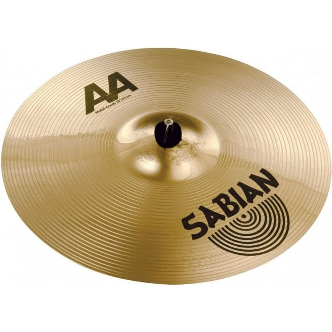 "Sabian AA 18"" Metal Crash Cymbal"