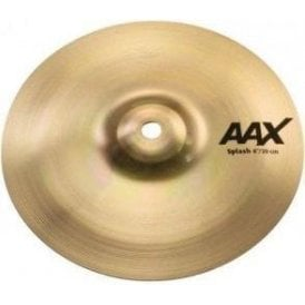 "Sabian AAX 8"" Splash Cymbal - Brilliant Finish"