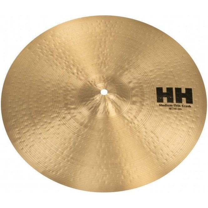 "Sabian HH 11607 16"" Medium Thin Crash Cymbal 