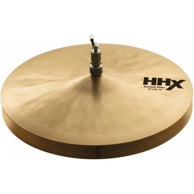 "Sabian HHX 11489XN 14"" Groove Hi Hat Cymbals 