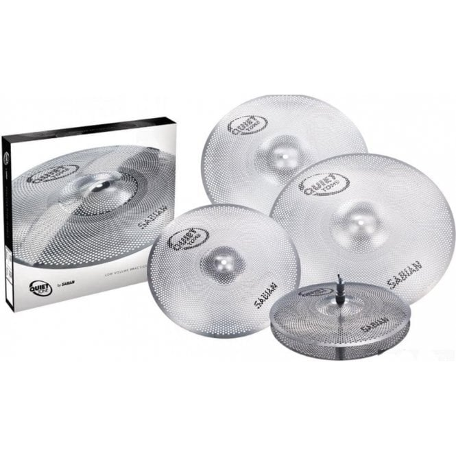 "Sabian Quiet Tone Cymbal Set 14"" HH, 16"" C, 18"" C & 20"" CR"