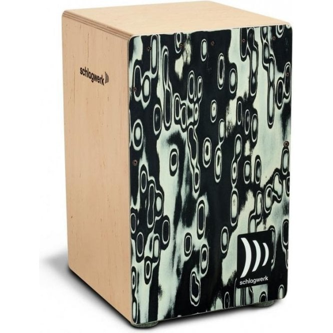 Schlagwerk Cajon Black Eyes CP4017 | Buy at Footesmusic