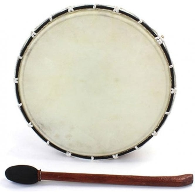 "Siesta Shamanic Drum - Medium 12"" Including Mallet"