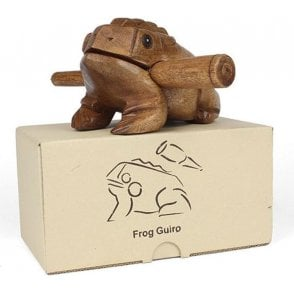 Croaking Frog - Wooden Guiro