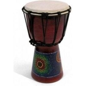 "Small Djembe 6"" Painted Finish BD21 