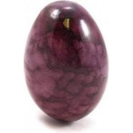 Wooden Egg Shaker Tie Dyed Purple