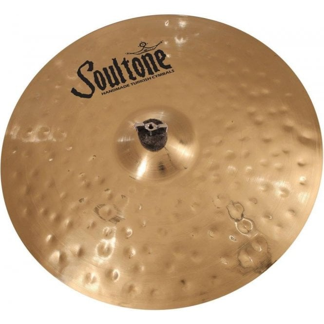 "Soultone 17""  Heavy Hammered Crash Cymbal"