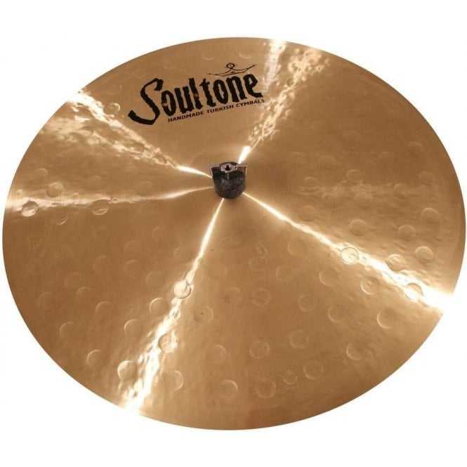 "Soultone 17""  Heavy Hammered Light Crash Cymbal 