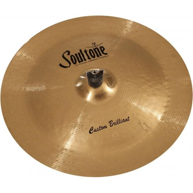 "Soultone Custom Brilliant 15"" China Cymbal"