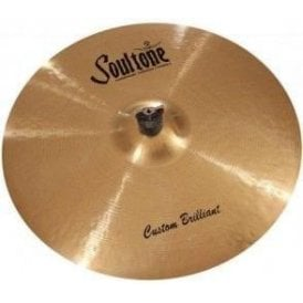 "Soultone Custom Brilliant 17"" Crash Cymbal"