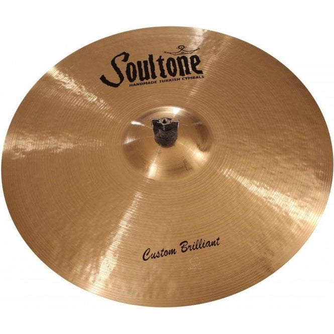 "Soultone Custom Brilliant 18"" Ride Cymbal"