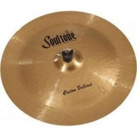 "Soultone Custom Brilliant 19"" China Cymbal"