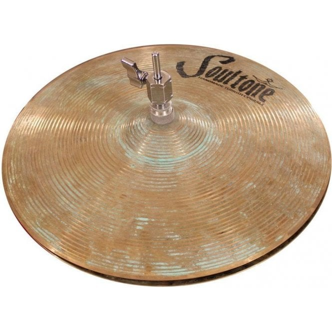 "Soultone Vintage Old School 14"" Hi Hat Patinated Cymbals (pair)"