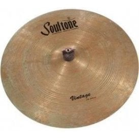 "Soultone Vintage Old School 18"" Crash Patinated Cymbal"