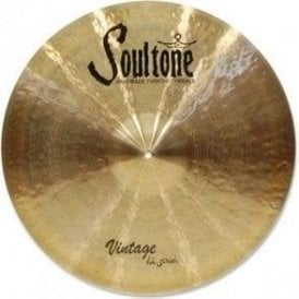 "Soultone Vintage Old School 19"" Crash Ride Cymbal"