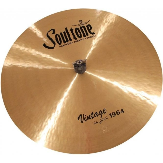 "Soultone Vintage Old School 1964 21"" Crash Ride Cymbal 