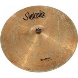 "Soultone Vintage Old School 22"" Crash Ride Patinated Cymbal"