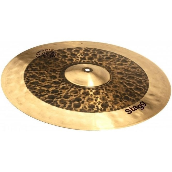 "Stagg 17"" Genghis Dual Medium Crash Cymbal GENGCM17D 