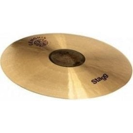"Stagg 17"" Genghis Exo Medium Crash Cymbal"