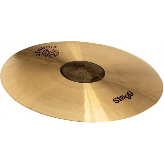 "Stagg 18"" Genghis Exo Medium Crash Cymbal GENGCM18E 