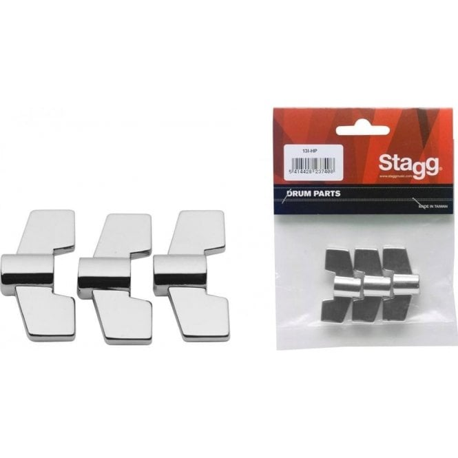 Stagg 8mm Wing Nuts (pack 3)