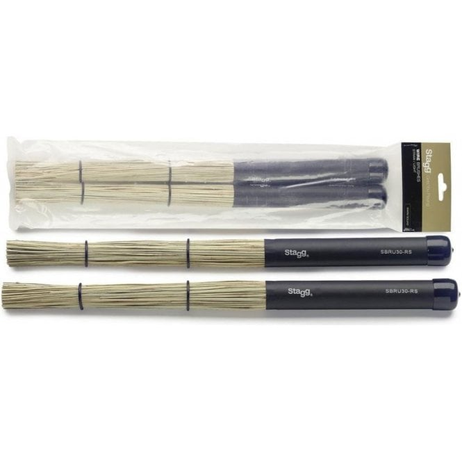 Stagg Bristle Rods - Plastic Handle SBRU30RS