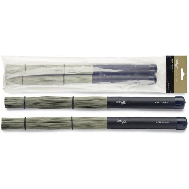 Stagg Bristle Rods - Plastic Handle SBRU35RS