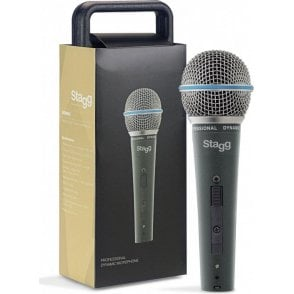 Stagg Cardoid Dynamic Microphone & Case
