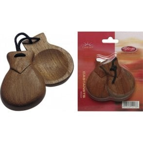 Stagg Castanets - Wood