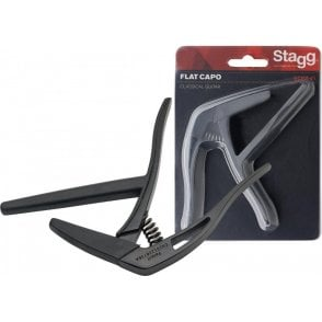 Stagg Classical Guitar Capo - Black Finish