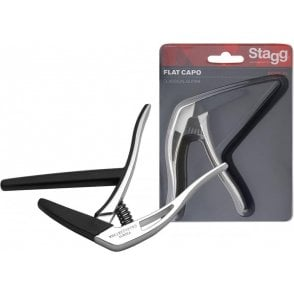 Stagg Classical Guitar Capo - Chrome Finish