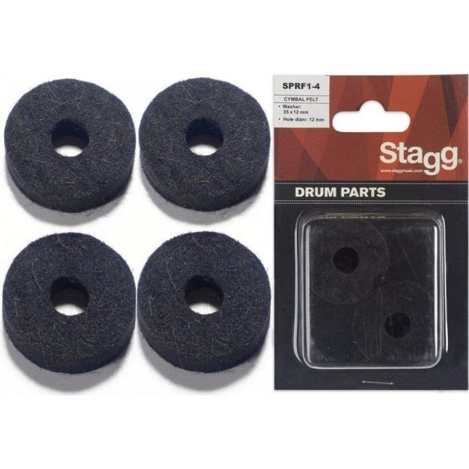 Stagg Cymbal Felts 4pk