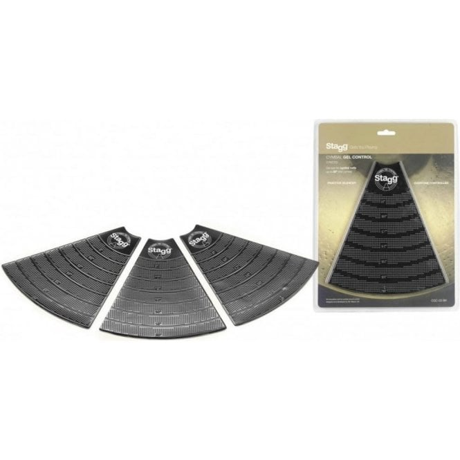 Stagg Cymbal Gel Practice Mufflers (3)