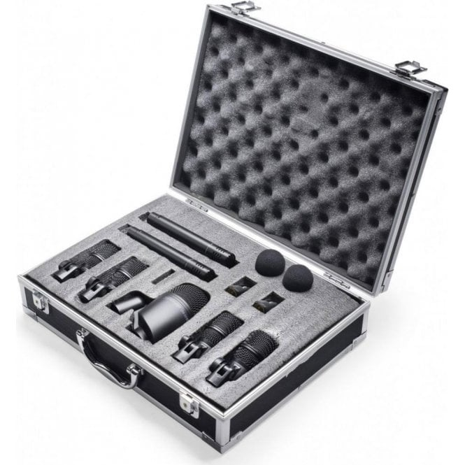 Stagg Drum Microphone Set (7 Mics & Case)