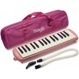 Stagg Melodica - Pink